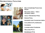 5 - Recreational Amenities