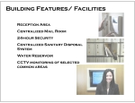 6 - Building Features and Facilities