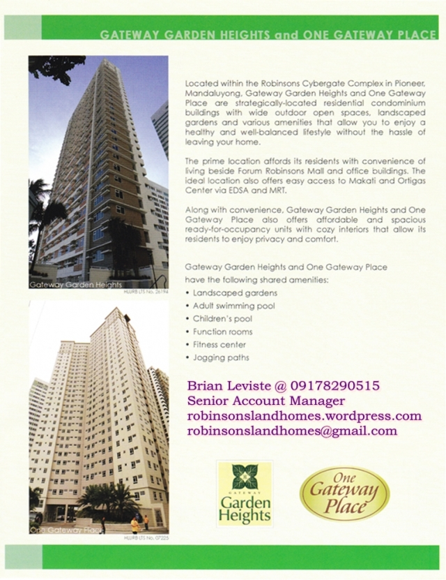 Condo Mandaluyong ready for occupancy