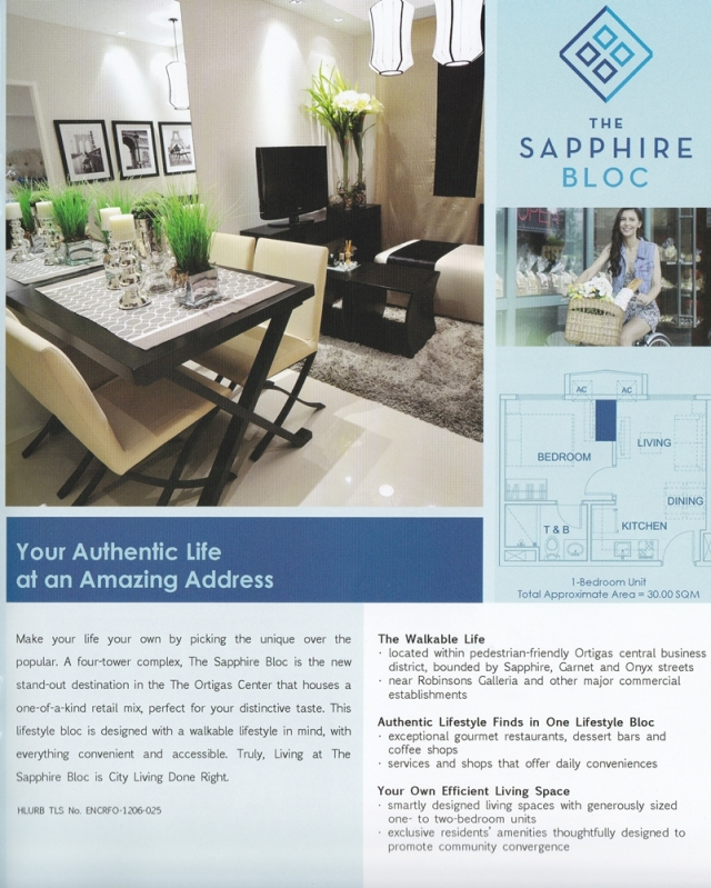 The Sapphire Bloc - Ortigas