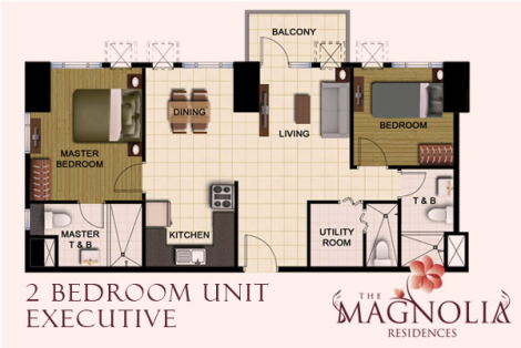 2BR Executive Magnolia