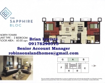 2 Bedroom The Sapphier Bloc - Ortigas