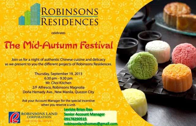 Mid-Autumn Festival at Magnolia Mall - 19 Sep 2013